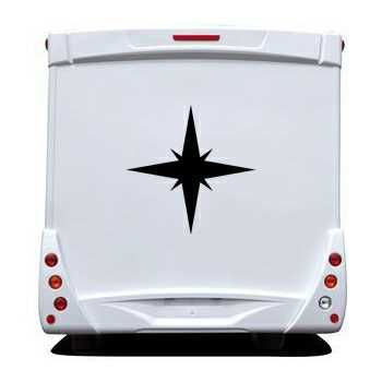 Star Camping Car Decal 3