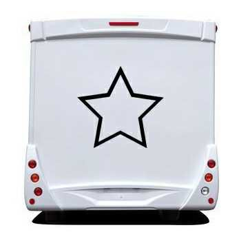 Star Camping Car Decal 4