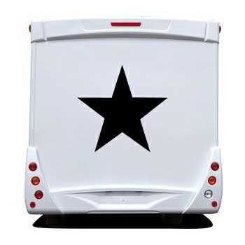 Star Camping Car Decal 5