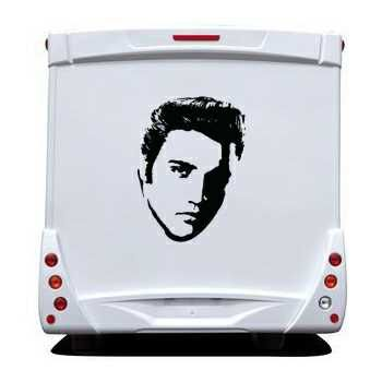 Sticker Camping Car Elvis Presley 2