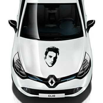 Elvis Presley Renault Decal 2