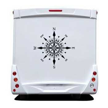 Cardinal Star Camping Car Decal