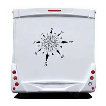 Cardinal Star Camping Car Decal 2