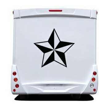 Star Camping Car Decal 6