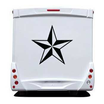 Star Camping Car Decal 7