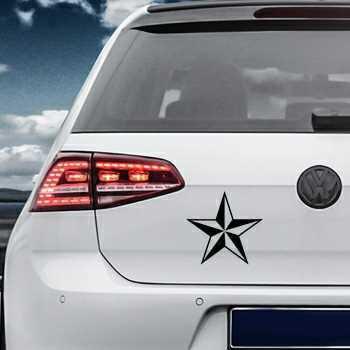 Star Volkswagen MK Golf Decal 7