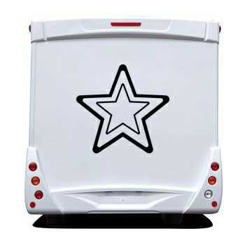 Star Camping Car Decal 8