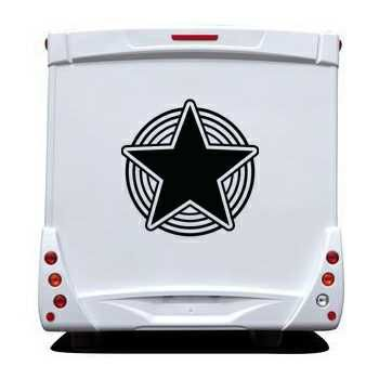 Star Camping Car Decal 9