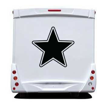Star Camping Car Decal 10