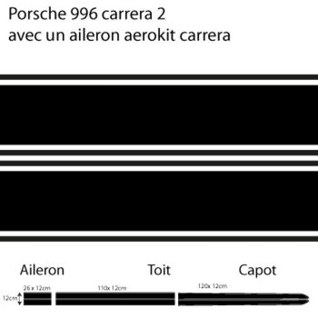Porsche 996 carrera decal model nr 2