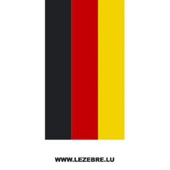 Sticker Bandes Auto Drapeau Deutschland