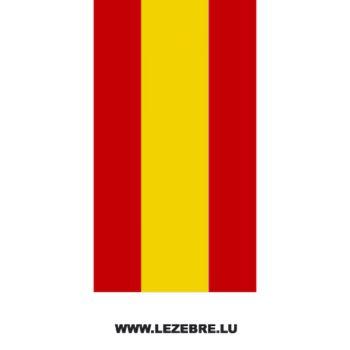 Sticker Banden Moto Flagge Spanien
