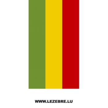 Sticker Banden Moto Rastafari