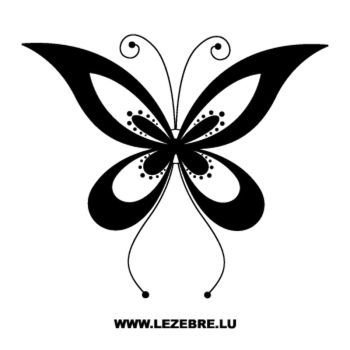 Butterfly Decal 69