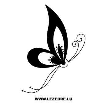 Butterfly Decal 70