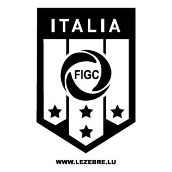Sticker Italia FIGC