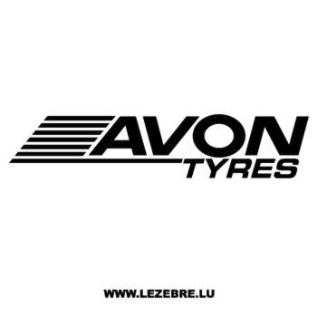 Avon Tyres Logo Decal 3