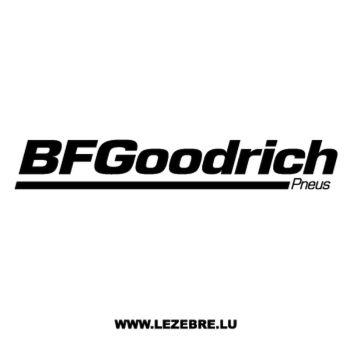 BFGoodrich Pneus Logo Decal