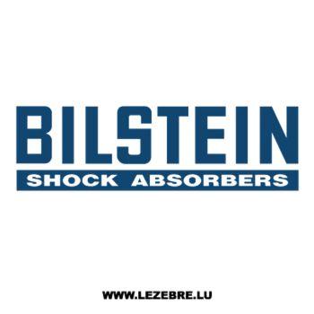Sticker Bilstein Shock Absorders