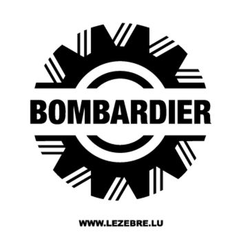 Bombardier Logo Decal