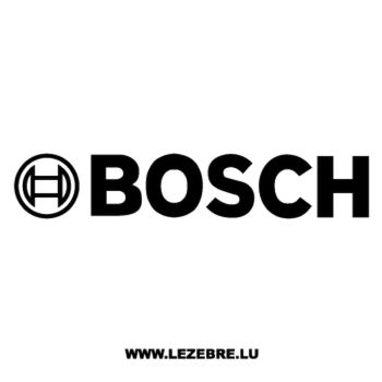 Bosch Logo Decal
