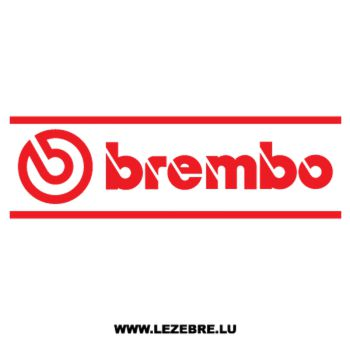 Sticker Brembo Logo