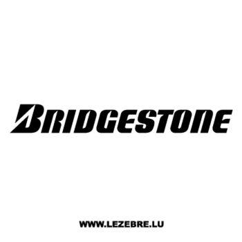 Autocollant Bridgestone Logo
