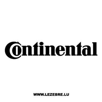 Continental Logo Decal