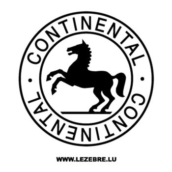 Continental Logo Decal 2