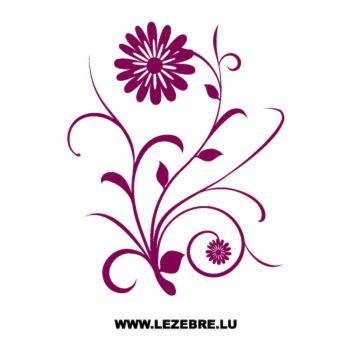 Flowers Decal 2