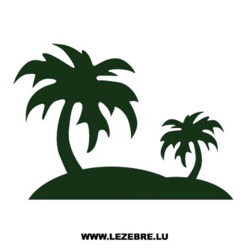 Palm Decal