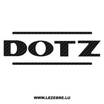 Dotz Logo Carbon Decal