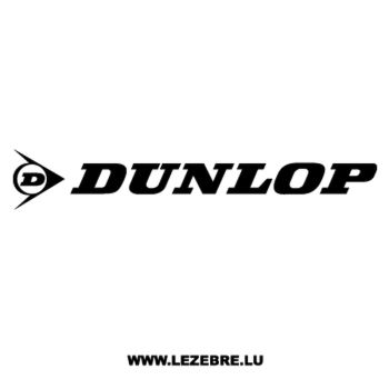 Sticker Dunlop Logo
