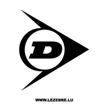 Sticker Dunlop Logo 2