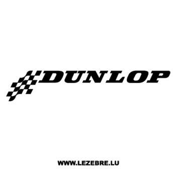 > Sticker Dunlop Logo 3