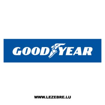 GoodYear Logo Decal