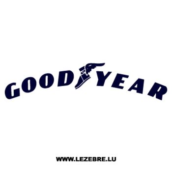 > Sticker GoodYear Logo 3