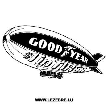 GoodYear Logo Decal 4