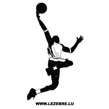 Sticker Joueur Basketball