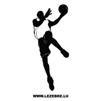 Sticker Joueur Basketball 3