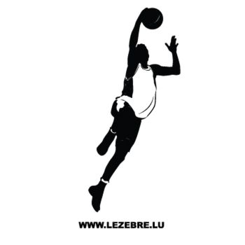 Sticker Jouer Basketball 6