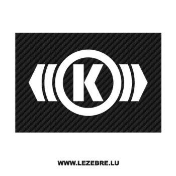 Knorr Bremse Logo Carbon Decal 3