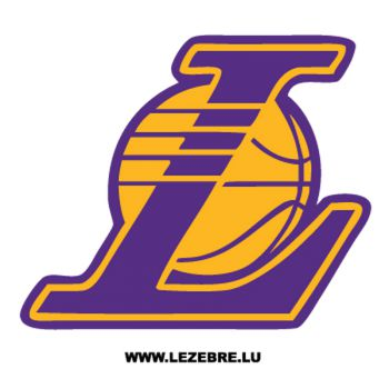 Los Angeles Lakers Logo Decal 2