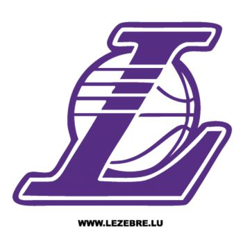 Sticker Los Angeles Lakers Logo 3