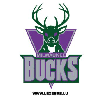 Sticker Milwaukee Bucks Logo