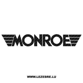 Monroe Carbon Decal