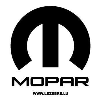 Sticker Mopar 2