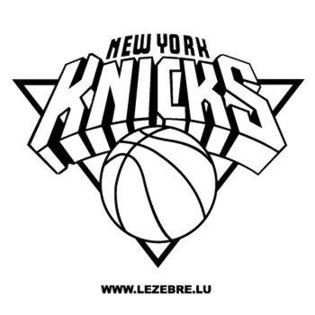 > Sticker New York Knicks Logo 2