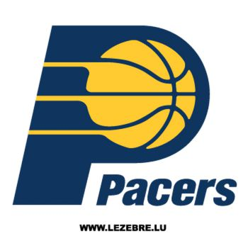 Sticker Pacers Logo
