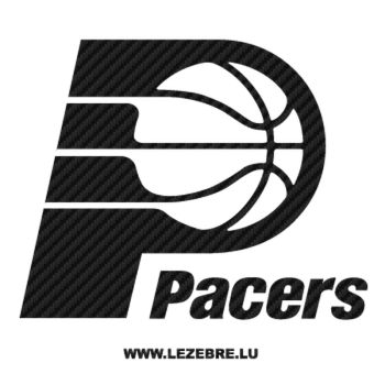 Sticker Carbone Pacers Logo 2